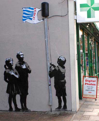 Banksy Very Little Helps